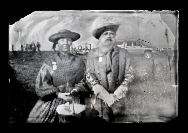 Depicting Gen. William Mahone and wife