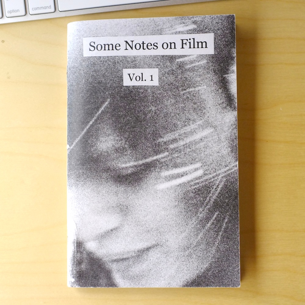review some notes on film vol 1 light documents nicholas writes smart and perceptive film criticism and uses tumblr s spare interface to mix images and text to good effect so as the first essay in the